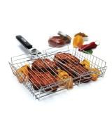 Multigriglia regolabile per barbecue
