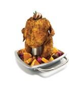 Supporto pollo con tegame
