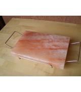 piastra sale con telaio acciaio