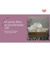 Kit party Birra ecosostenibile