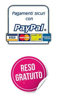 pagamenti sicuri e reso gratuito