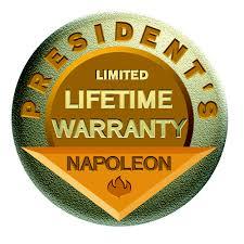 Limited Lifetime Warranty Napoleon